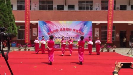 旗袍秀【女人花】景德镇市昌江区西效街道时装队演出