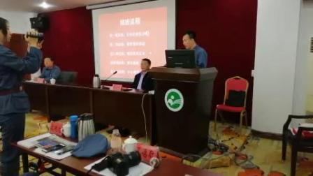 北京城铁学员在井冈山青年干部培训中心朗读自己作的诗《我骄傲,我是中国人》