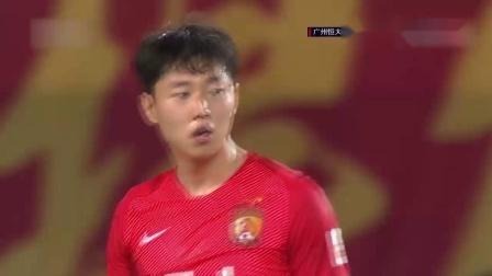 「集锦」中超-恒大2-2苏宁 郜林破门后伤退 韦世豪点射绝平