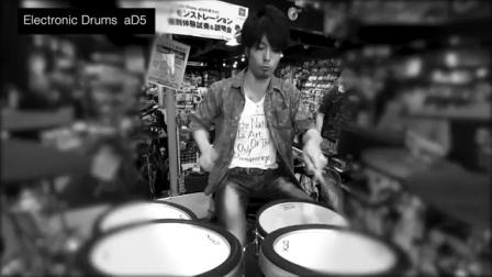 Electronic Drums aD5 Demonstration