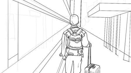 《港南HONG KONG》-Procreate绘画过程