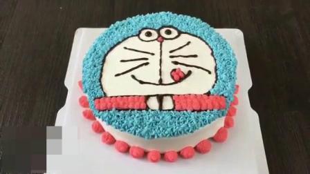 奶油生日蛋糕的做法 烘焙甜点 蛋糕烤箱做蛋糕