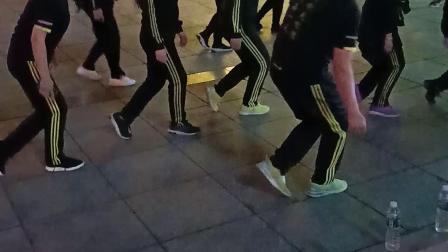 广场教学!黑龙江宝清县人民广场!
