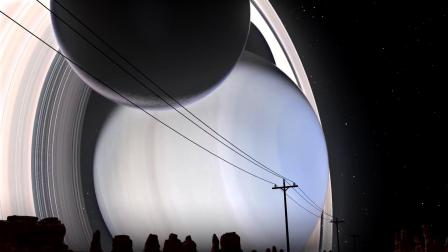 【中文字幕】如果把所有行星都放在地球和月球中间会怎样