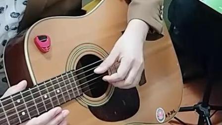 第二课:练习9:三指拨弦练习2