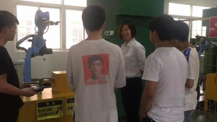 南京工业机器人入门培训 工业机器人示教编程现场