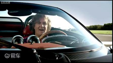詹姆斯·梅在赛道上进行功率测试 - 大轮毂汽车视频