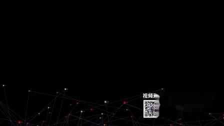 s732 2k畫質超炫超酷線條粒子互聯網科技網格HUD動態視頻素材晚會年會背景視頻 LED視頻