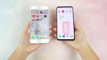 苹果魅族两台手机屏幕对比,OLED和LCD的差距我难以接受!