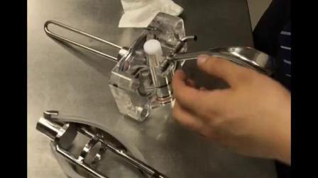 莱克琳282冰淇淋机清洗视频