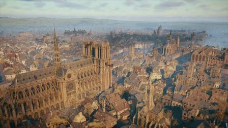 《刺客信条大革命》巴黎圣母院 信仰一跃