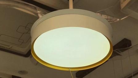 8100白吊扇灯,餐厅卧室房间风扇灯。
