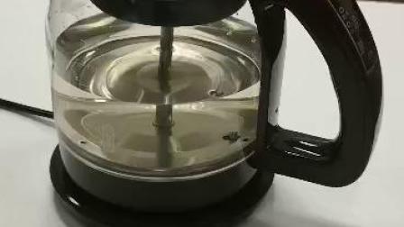 陶瓷无孔茶漏煮茶器演示