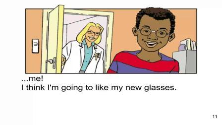 17 Josh get glasses