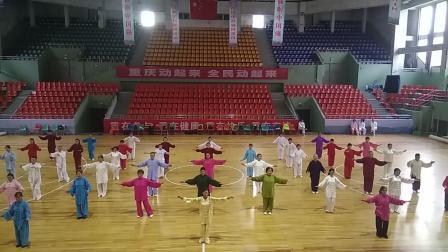 武当导引十三式(重庆永川区太极拳培训中心)
