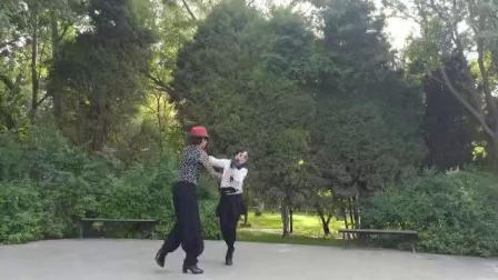 兰州花盛水兵舞团刘银花团长周帅帅共舞会呼吸的吉特巴