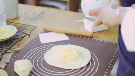 教你做网红榴莲芝士饼,原来这么简单