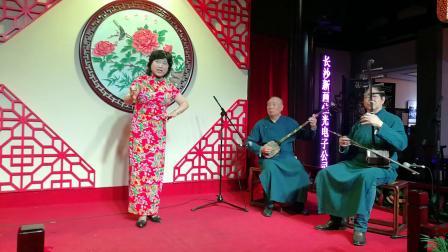 宁波走书表演艺术家朱玉兰老师。录制,邱女士,2019,5,18日