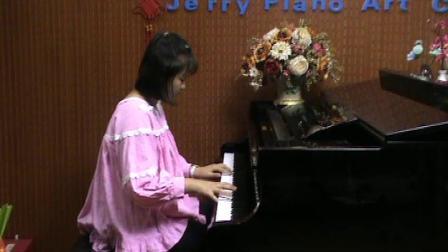郑州美丽中学生翟家瑶钢琴即兴演奏《梁祝》