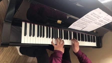 钢琴曲《梭罗河(Bengawan Solo)》随堂示范 赵胤先 编曲 中级难度版 (另有 演奏级难度版 见作者高级作品集)