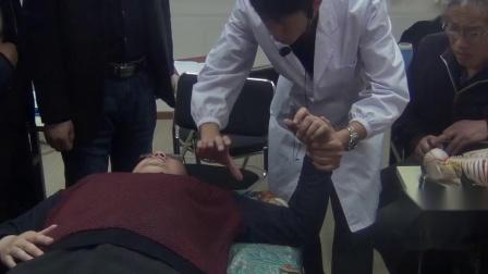 张振听治肩部疼痛当场见效视频正骨培训
