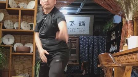 心意六合拳 刘振佑老师徒弟 演练轮劈挑领