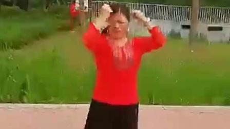 20190518武汉青山绿水《小蛋糕)文化交流艺术团《美女小铃铛授课花儿这样红舞蹈基础训练示范动作》