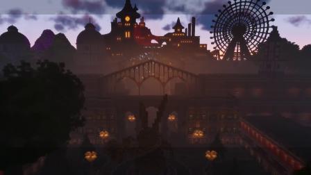 【游民星空】在《我的世界》中还原《尼尔:机械纪元》游乐园