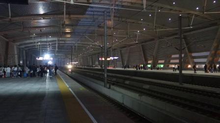 2019年4月7日,G1825次(郑州东站-上海虹桥站)本务中国铁路上海局集团有限公司上海动车段上海虹桥动车运用所新CRH380BL型苏州北站通过