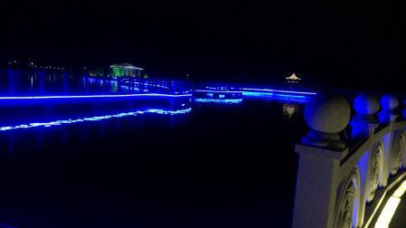 建湖恒济度假村(夜景)