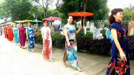 (慈城专辑一)2019世界华人旗袍文化总会:宁波江北队走进南联村