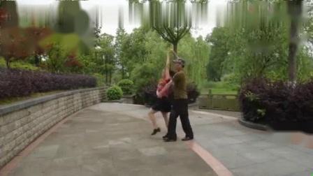 我在男女双人舞三步踩《红山果》截取了一段小视频