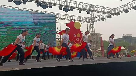 2019.5.15宁夏中宁县全民百姓健康舞《天南地北唱中华》
