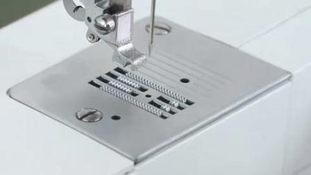 重机180缝纫机做薄料直线针板操作方法