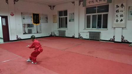 马浩辰(7岁)杨氏青萍剑六路