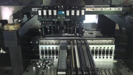 高元件什么贴片机能贴 DOB高压电解电容贴片机汉诚通科技8头飞拍1200SV