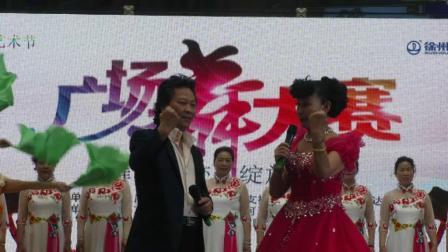 徐州云龙广场舞队共筑中国梦