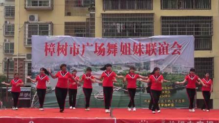双雄肥婆舞蹈队《月下情缘》樟树市广场舞姐妹联谊会 2019年5月19日