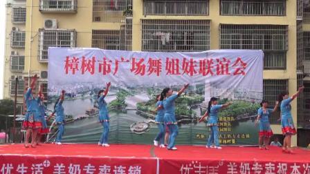 熙旗舞蹈队《站着等你三千年》樟树市广场舞姐妹联谊会 2019年5月19日