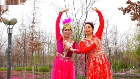 石河子广场舞《海棠花》