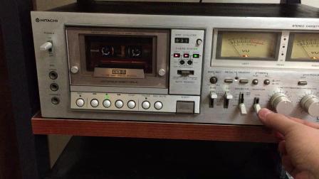 1980年的日立三磁头卡座音质展示  ,年纪虽大,但还算在状态