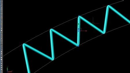 《理想3V工具箱》--  无序减 腹杆自动处理干涉  相贯线软件  相贯线切割机软件 钢管展开 相贯线展开软件