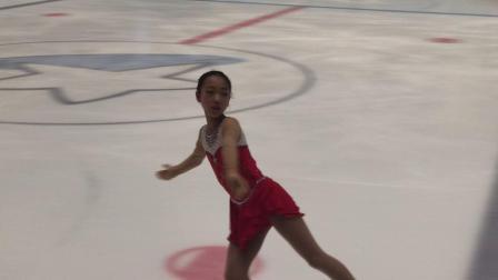 张靖涵四川省花样滑冰锦标赛比赛视频