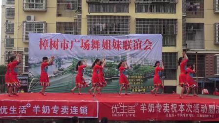 九一五舞蹈队《天上的纳木错》樟树市广场舞姐妹联谊会 2019年5月19日