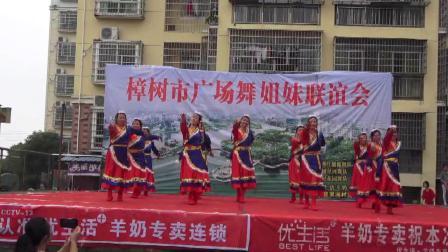 樟树贮木场小区舞蹈队《想西藏》樟树市广场舞姐妹联谊会 2019年5月19日