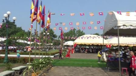 老挝万象佛学院外景