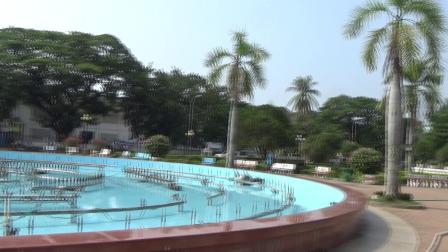 老挝首都万象凯旋门广场之二