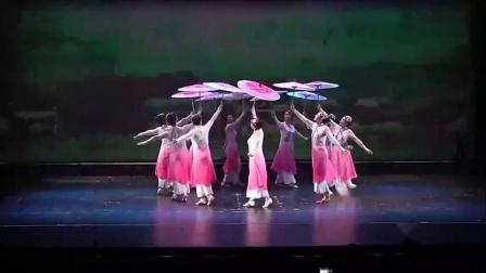 19最火抖音舞蹈古典舞伞舞《风筝误》舞蹈视频 最美民族舞蹈群舞-_高清