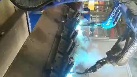 三轴垂直变位机 安川焊接机器人  自动焊接机器人机械手