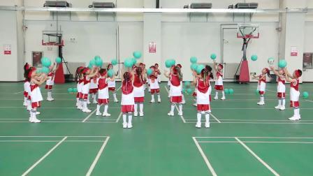 2019华蒙星全国幼儿篮球视频赛-焦作英才幼儿园《花式跳绳篮球操》